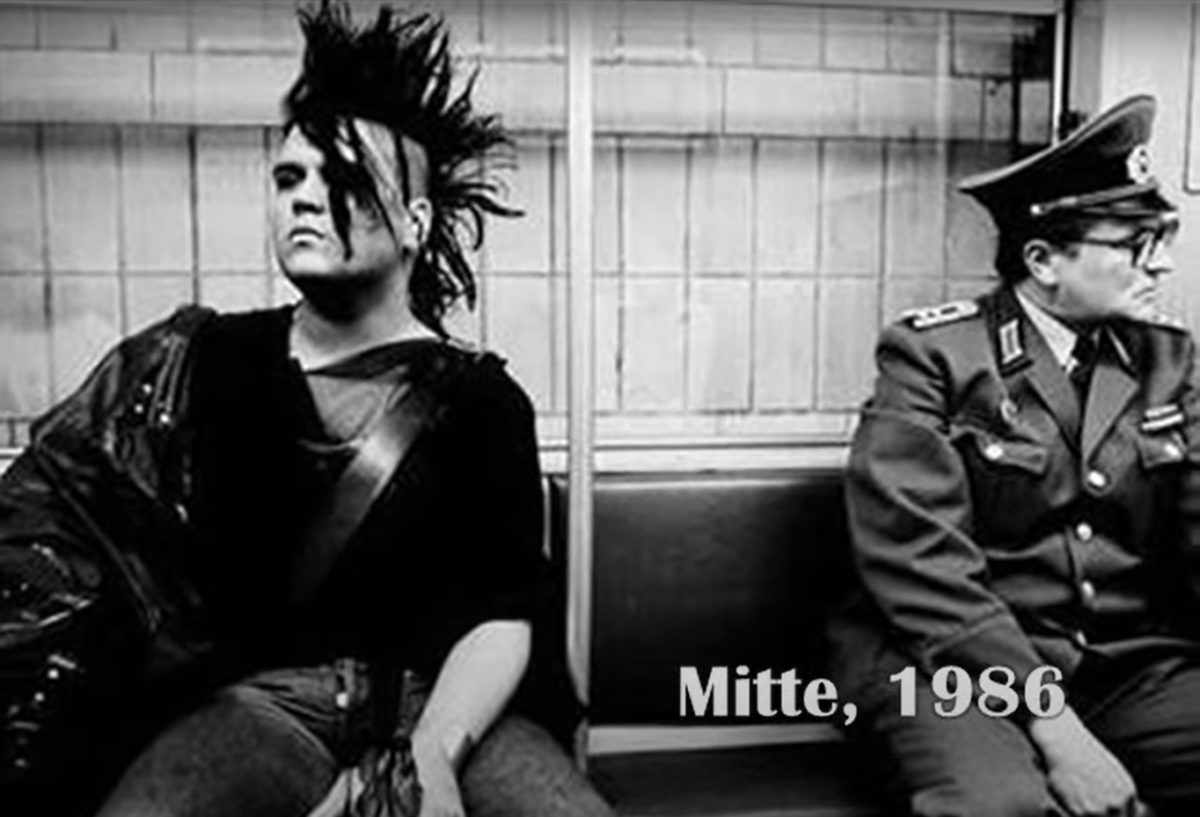 East Berlin - Punk and Official 1986 - Courtesy of WestHam712